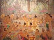 Adrien-Jean le Mayeur de Merpres (Oil on canvas) c. 1937