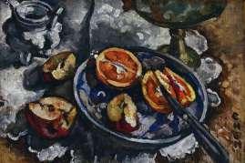 Georgette Chen (Oil on panel) 1928-1930